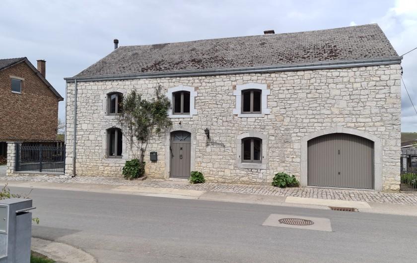 Location de vacances - Gîte à Humain - La façade