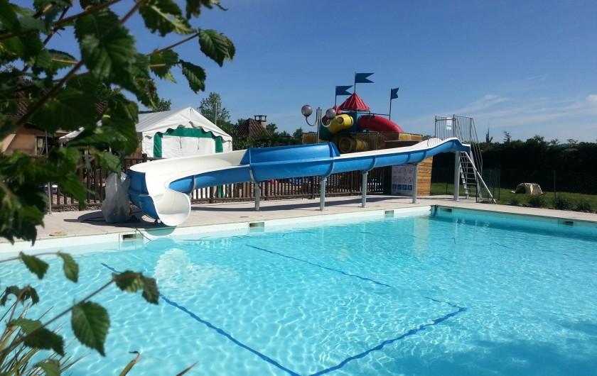 Location de vacances - Camping à Girac - Chalet confort+