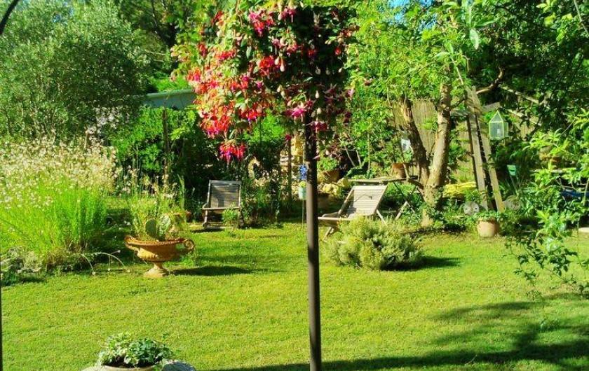 Location de vacances - Maison - Villa à Cheval-Blanc - farniente dans les chiliennes