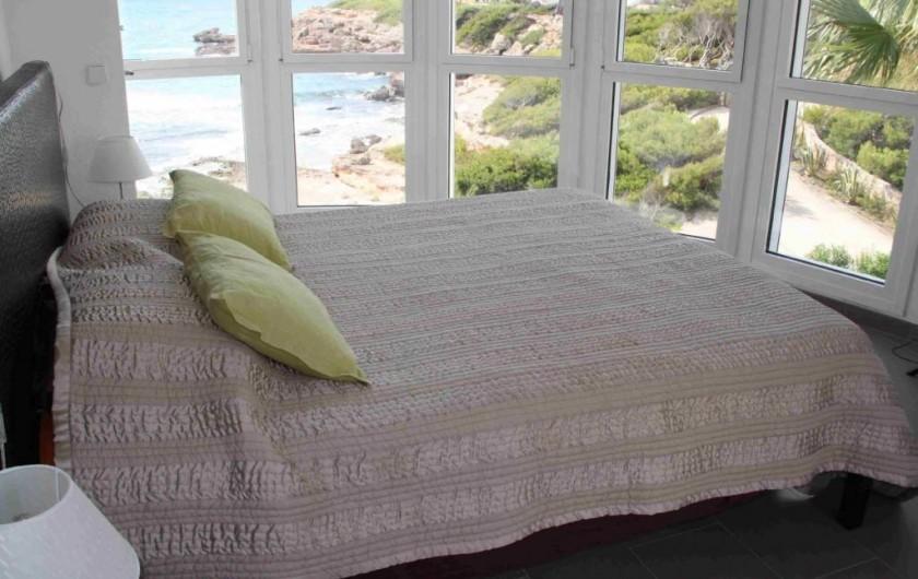 Location de vacances - Villa à L'Ametlla de Mar - chambre étage