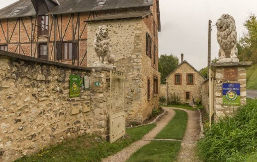 Location de vacances - Chambre d'hôtes à Saint-Vigor - L'entrée