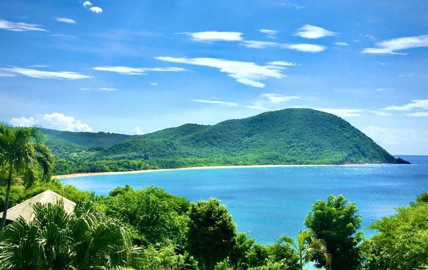 Location de vacances - Villa à Douville - Fameuse plage de grande-anse Deshaies