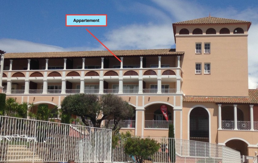 Location de vacances - Appartement à Agay - Appartement dans la résidence L2