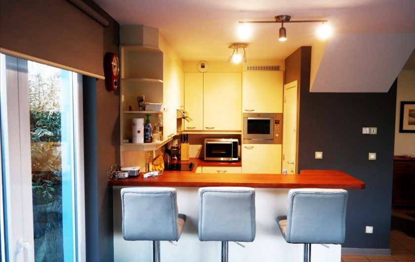 Location de vacances - Maison - Villa à Wimereux - cuisine américaine
