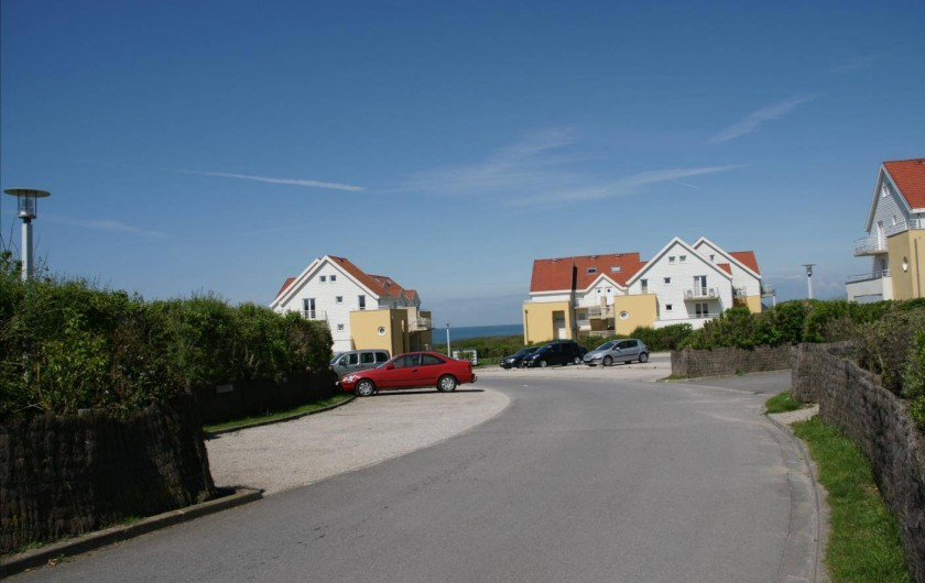 Location de vacances - Maison - Villa à Wimereux - vue mer et parking