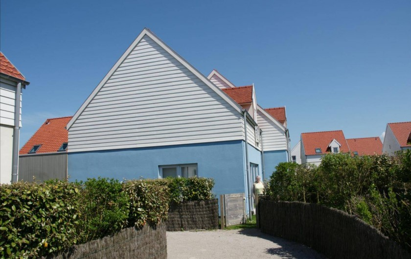 Location de vacances - Maison - Villa à Wimereux - allée d'entree