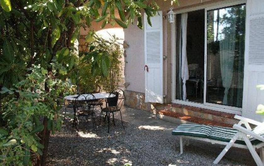 Location de vacances - Studio à Villeneuve-Loubet