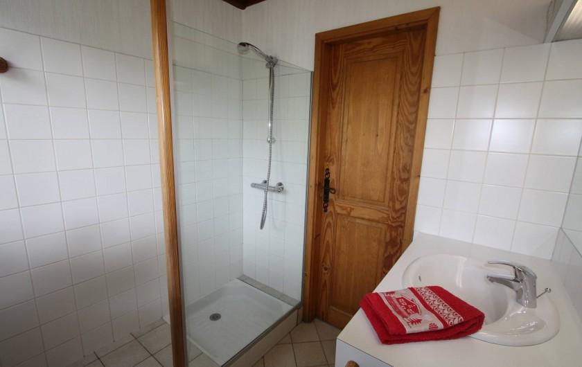 Location de vacances - Chalet à Xonrupt-Longemer - SDB avec douche