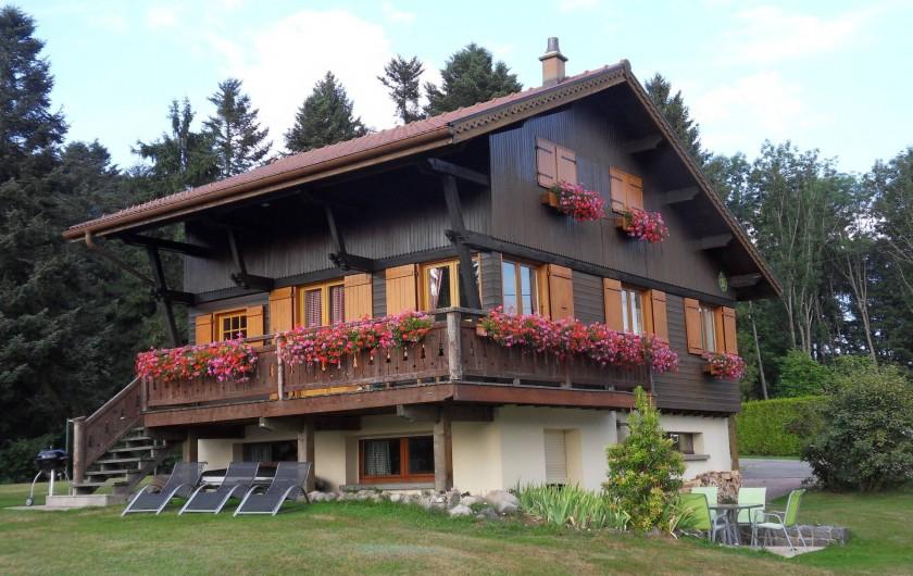 Location de vacances - Chalet à Xonrupt-Longemer - L'été