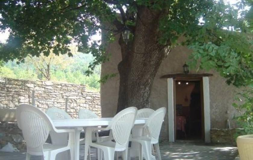Location de vacances - Maison - Villa à Rapale - Terrasse et cuisine d'été