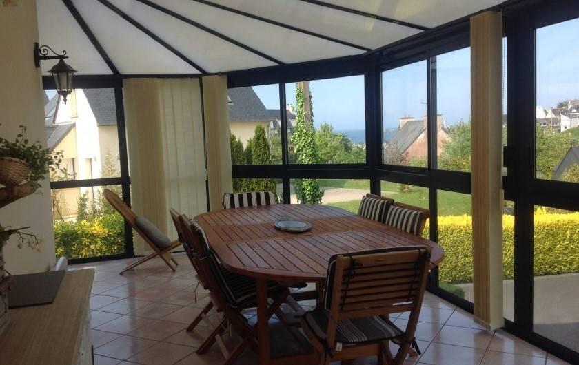 Location de vacances - Maison - Villa à Loguivy - Véranda