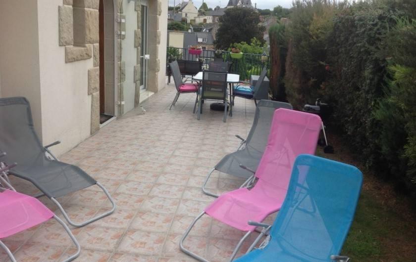 Location de vacances - Maison - Villa à Loguivy - Terrasse
