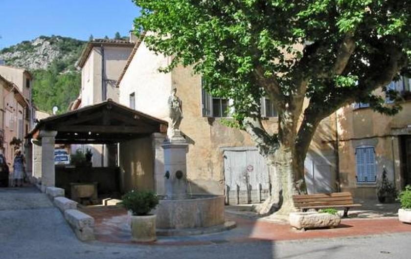 Location de vacances - Villa à Vins-sur-Caramy - Village de VIns-Sur-Caramy