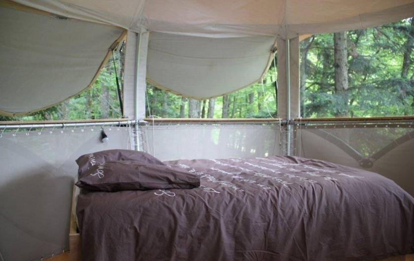 Location de vacances - Cabane dans les arbres à Buhl