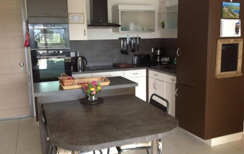 Location de vacances - Appartement à Porto-Vecchio - Cuisine à l'américaine