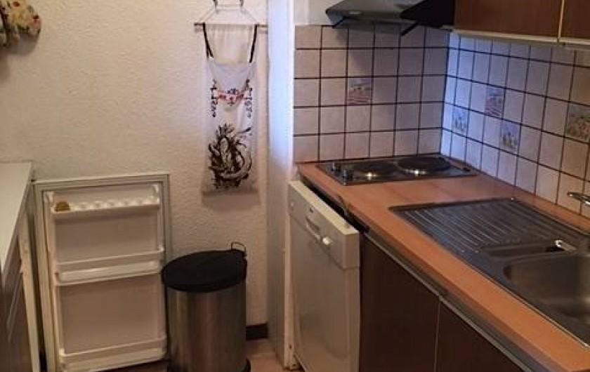 Location de vacances - Appartement à Taninges - Cuisine