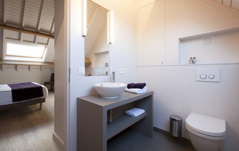 Location de vacances - Chambre d'hôtes à Zwevegem - Salle de bain