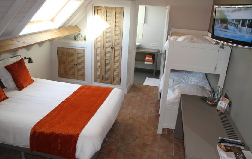 Location de vacances - Chambre d'hôtes à Zwevegem - Chambre Orange