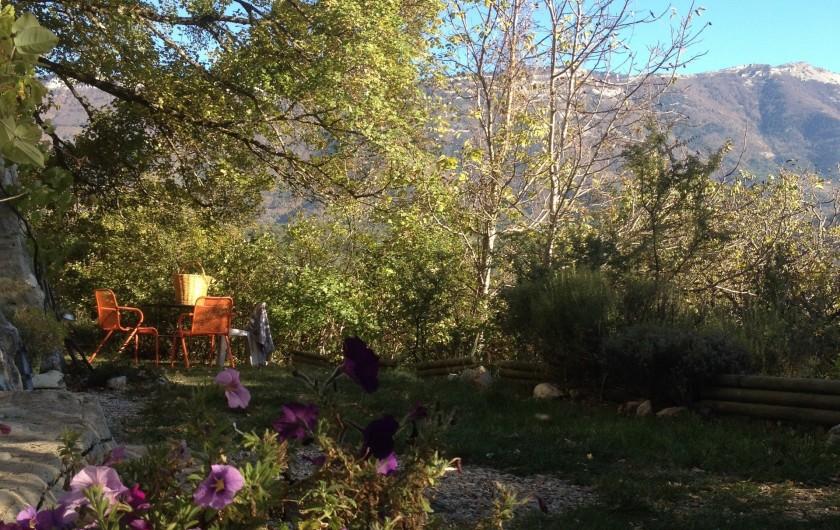 Location de vacances - Gîte à Saint-Julien-en-Quint - coté plein sud,