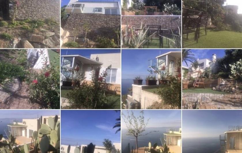 Location de vacances - Villa à Roses - Photos extérieures avec jardins et 4 terrasses