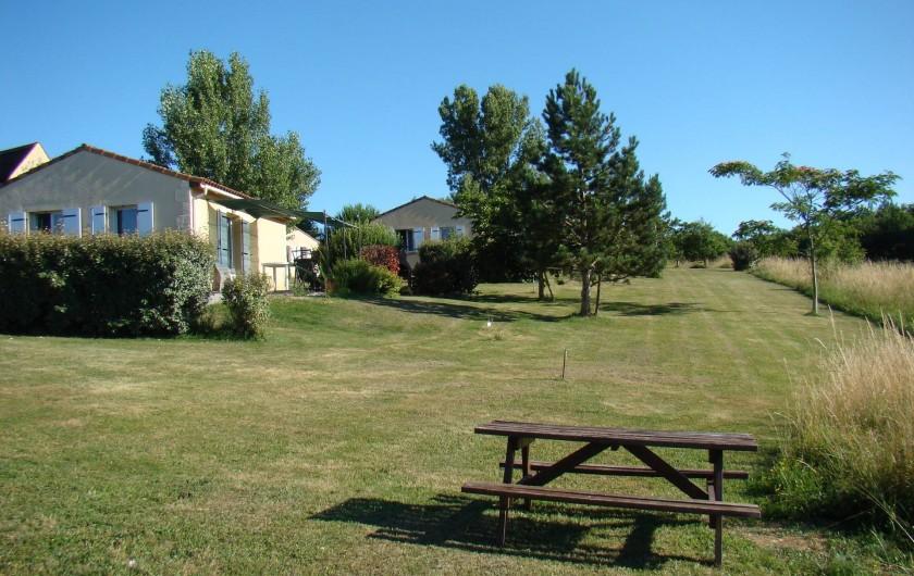 Location de vacances - Gîte à Salviac - vue générale