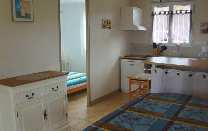 Location de vacances - Gîte à Salviac - Intérieur maison