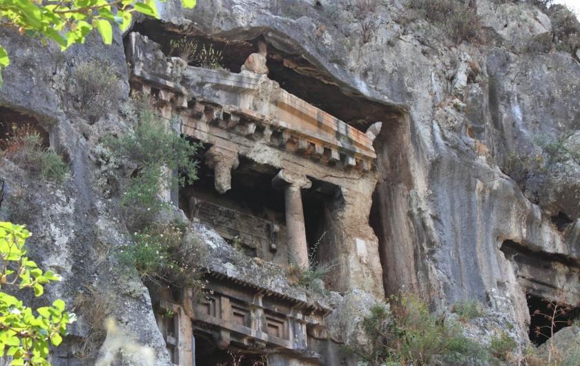Location de vacances - Appartement à Fethiye - Une histoire fascinante