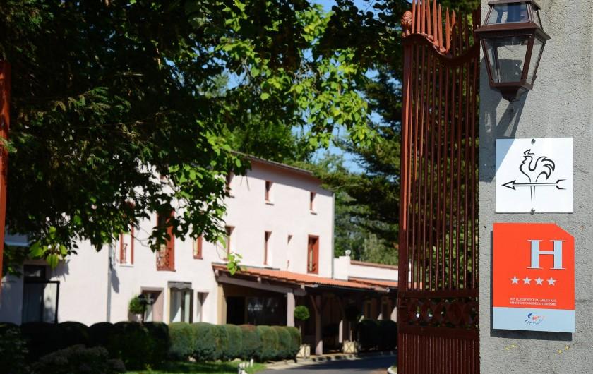 Location de vacances - Hôtel - Auberge à Thiers - Entrée du Clos St Eloi