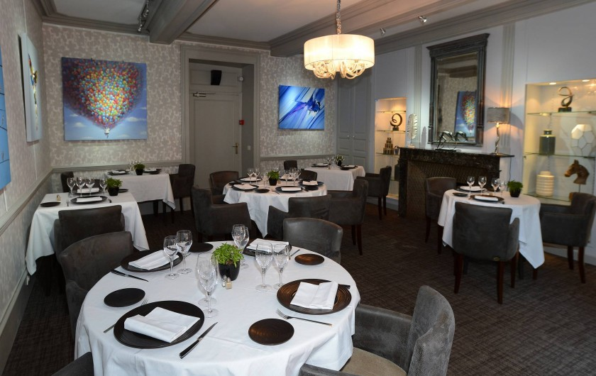 Location de vacances - Hôtel - Auberge à Thiers - Une des deux salles de restaurant