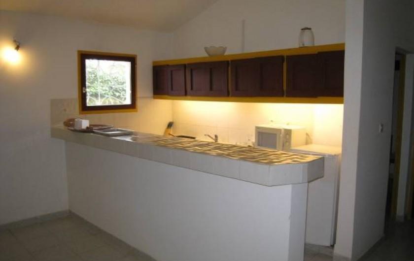 Location de vacances - Appartement à Somone - Cuisine américaine
