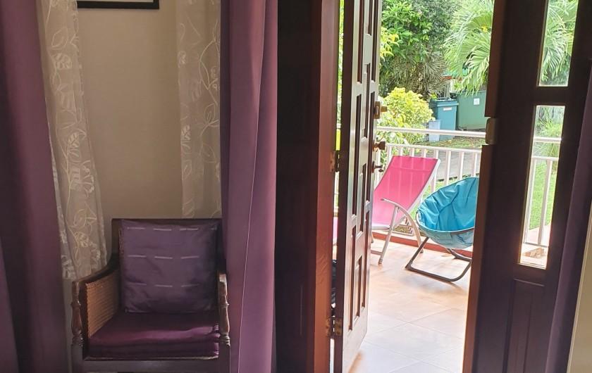 Location de vacances - Villa à Petit Bourg - CHAMBRE 4