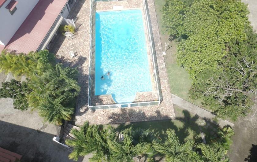 Location de vacances - Villa à Petit Bourg - CHAMBRE ROSE