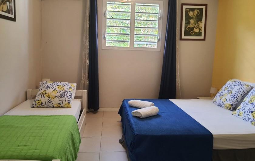 Location de vacances - Villa à Petit Bourg - SALON