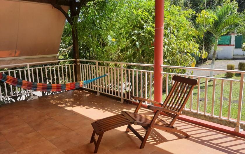Location de vacances - Villa à Petit Bourg - TERRASSE