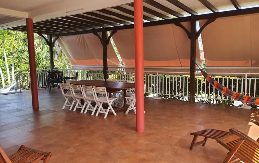 Location de vacances - Villa à Petit Bourg - SALLE DE BAIN PRINCIPALE