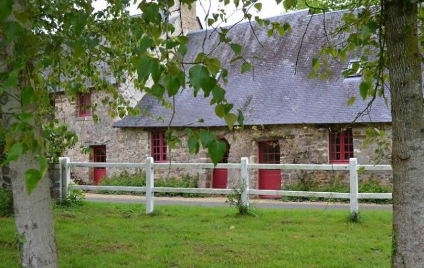 Location de vacances - Gîte à La Baconnière - Longère