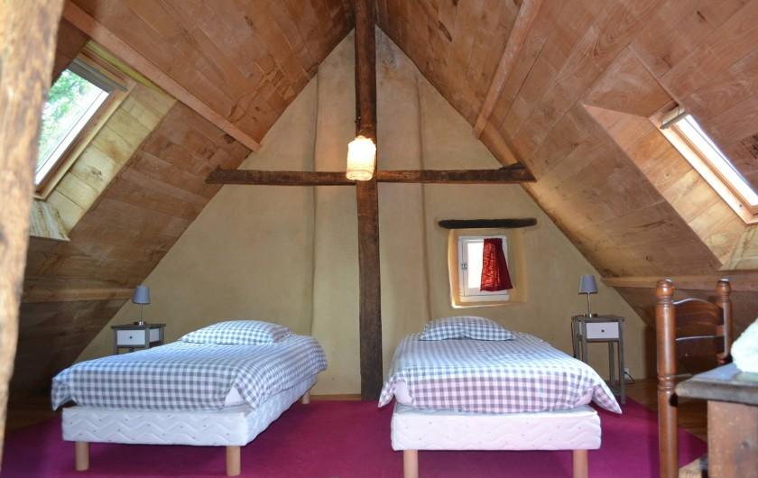 Location de vacances - Gîte à La Baconnière - Chambre 1er étage
