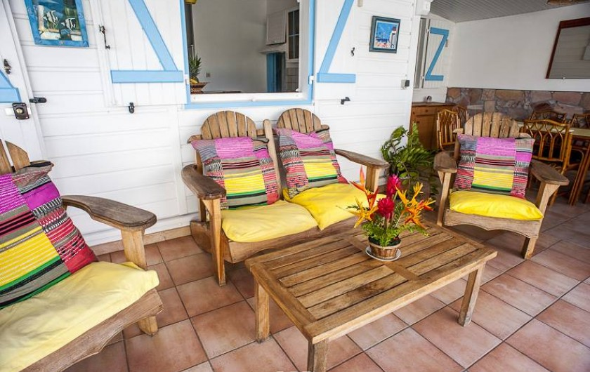Location de vacances - Villa à Le François - Villa Colibri