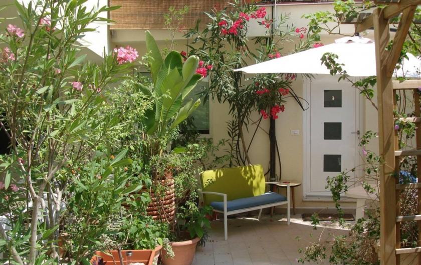 Location de vacances - Studio à Nice - cour