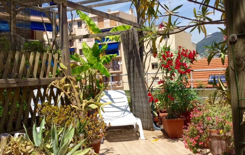 Location de vacances - Studio à Nice - solarium