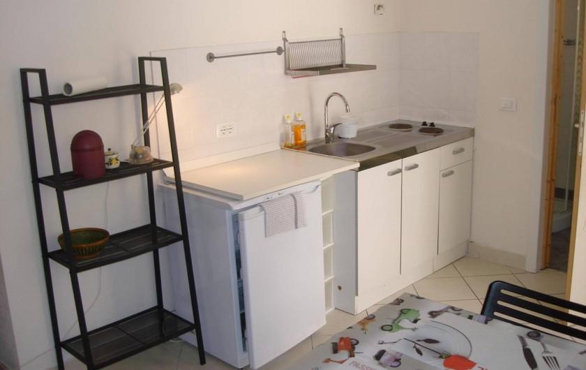 Location de vacances - Studio à Nice - coin cuisine