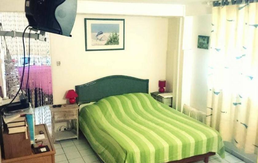 Location de vacances - Appartement à Deshaies - Chambre INDIANA (2 à 3 personnes)