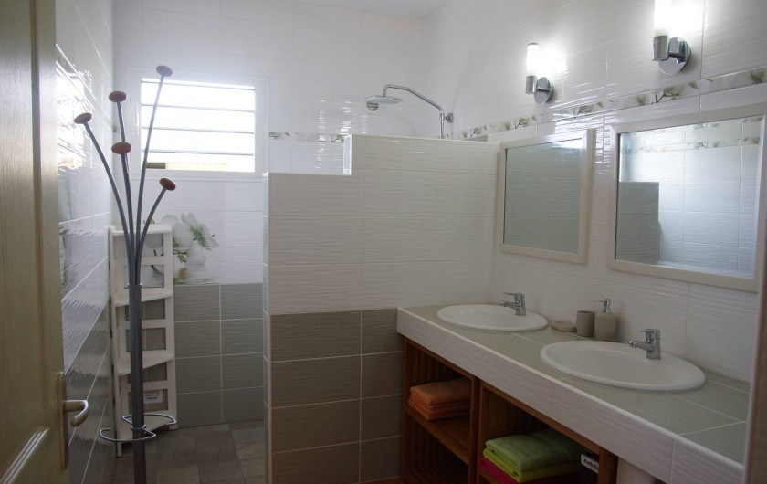 Location de vacances - Villa à Saint-Louis - Salle de bain