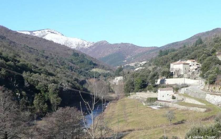 Location de vacances - Gîte à Notre-Dame-de-la-Rouvière - Le mas l'hiver