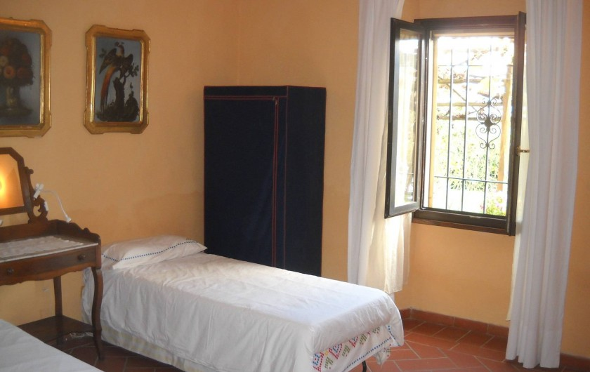 Location de vacances - Appartement à Incisa in Val d'Arno - La chambre indienne