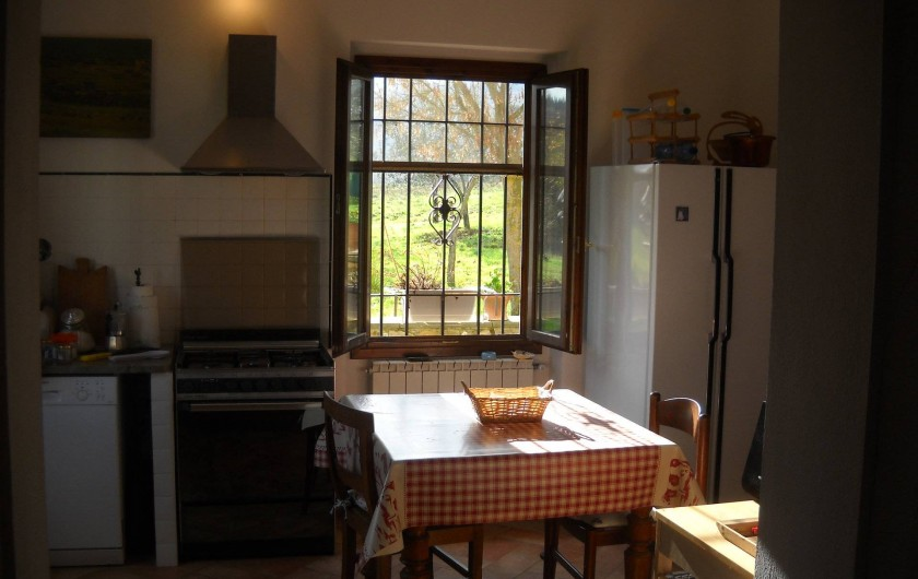 Location de vacances - Appartement à Incisa in Val d'Arno - La cuisine