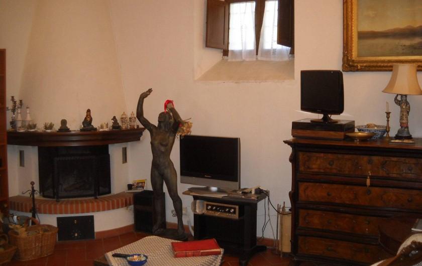 Location de vacances - Appartement à Incisa in Val d'Arno - La salle de sejour