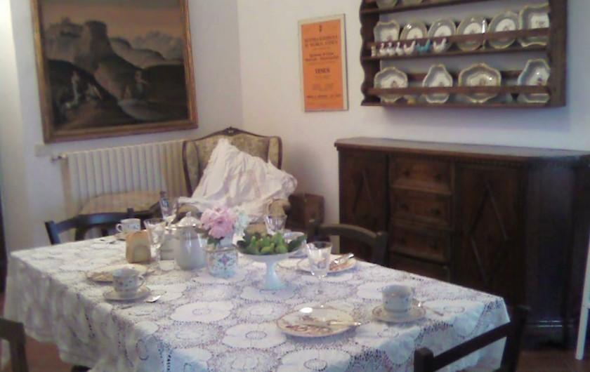 Location de vacances - Appartement à Incisa in Val d'Arno - La salle à manger