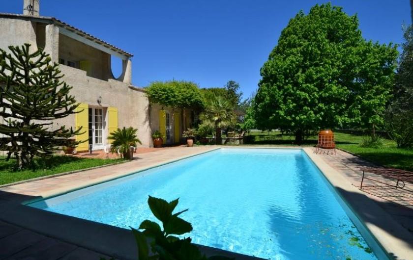 Location de vacances - Villa à Monteux - PISCINE côté sud