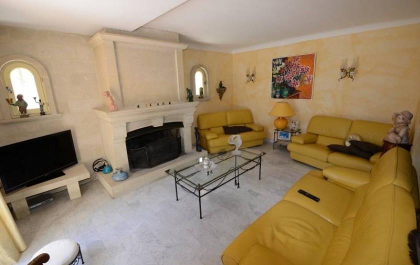 Location de vacances - Villa à Monteux - salon